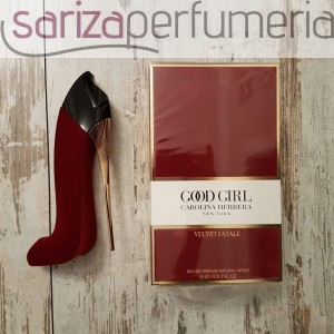 CAROLINA HERRERA GOOD GIRL VELVET FATALE EDPS 80ML
